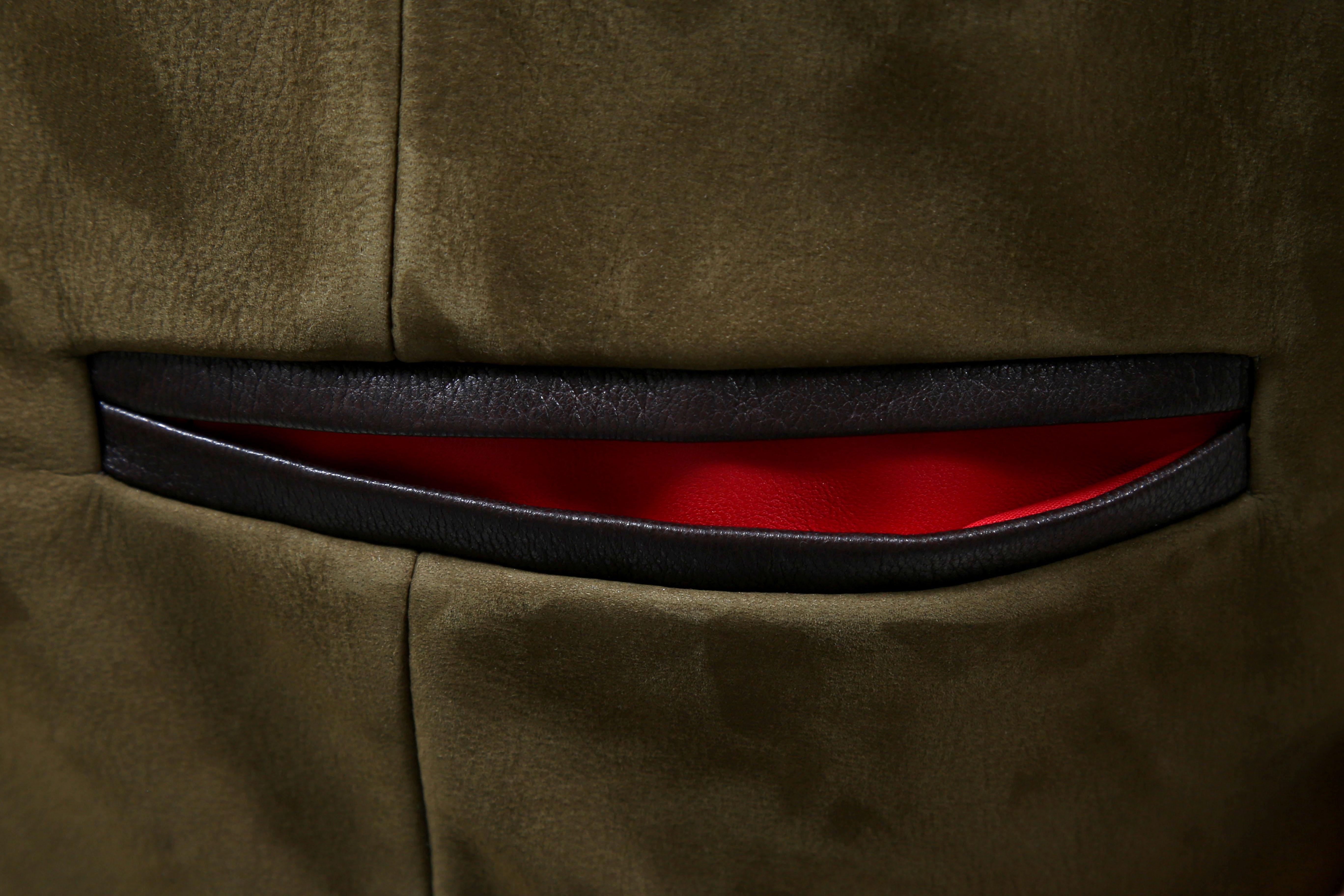 Exemple d'entrée de poche en couleur