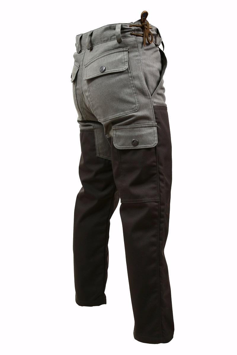 Pantalon Maquis en toile coton élasthanne avec renforts Cordura 3 couches